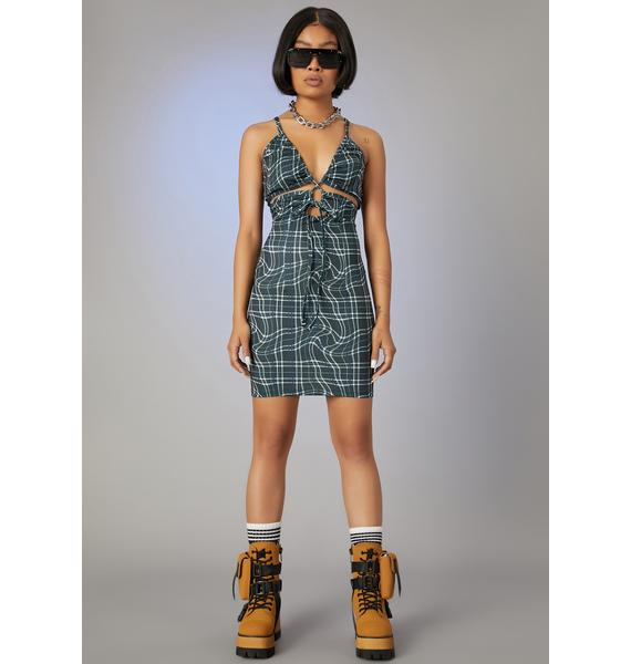 Poster Grl Never The Same Cut-Out Dress