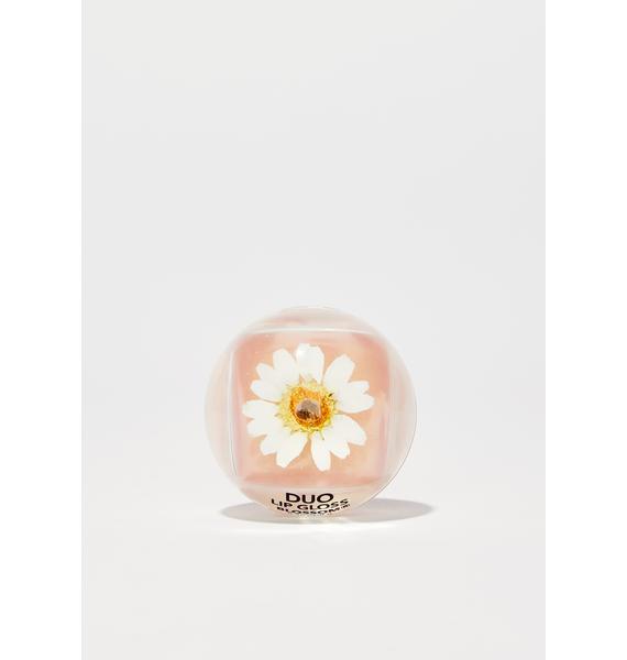Blossom White Duo Lip Gloss