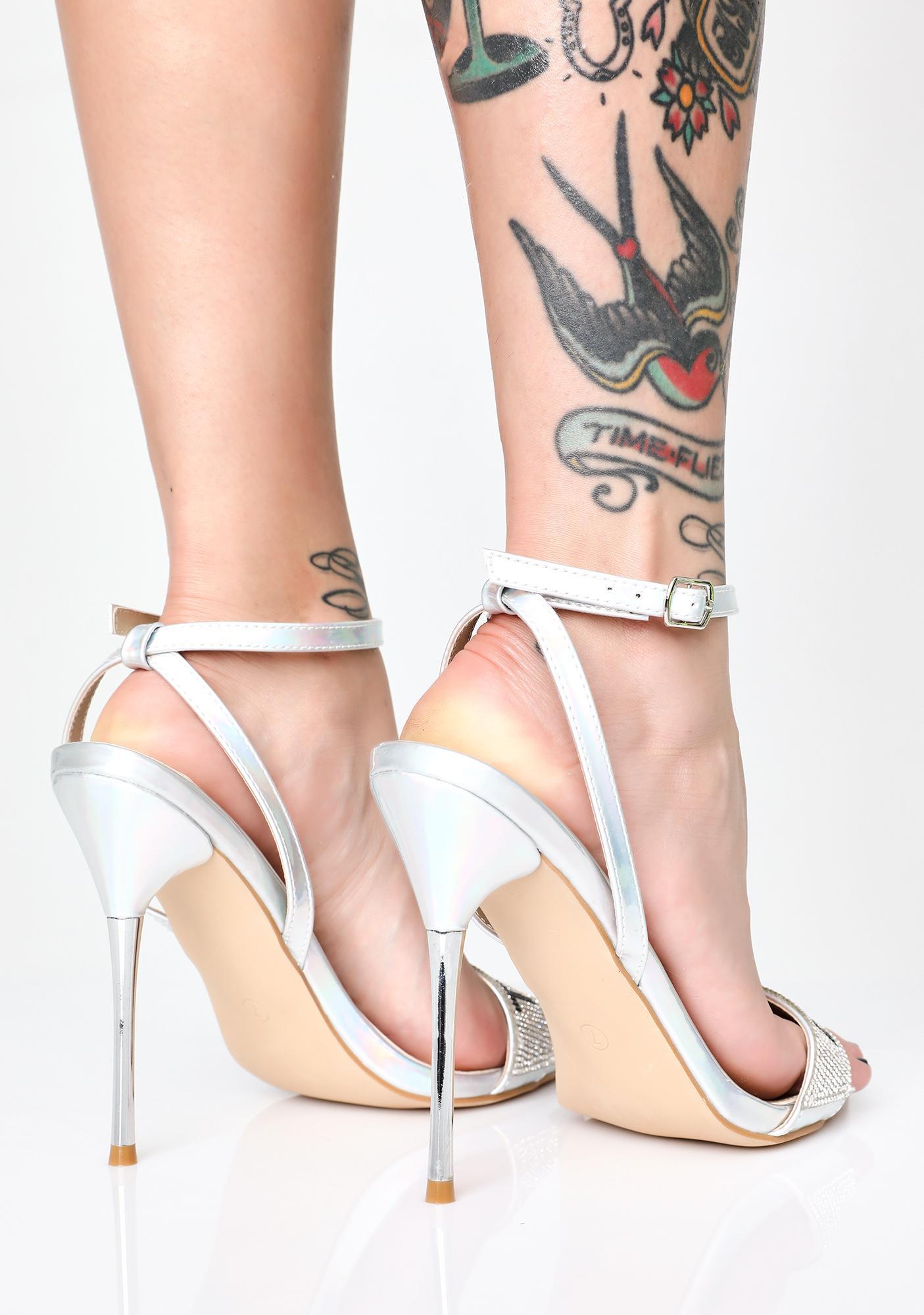 Diva Tingz Holographic Heels