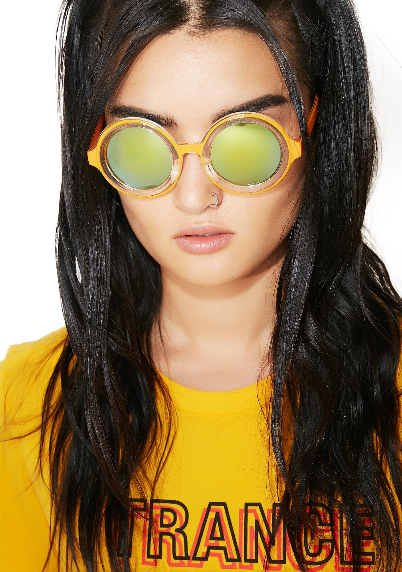 Petals and Peacocks Ecstasy Sunglasses