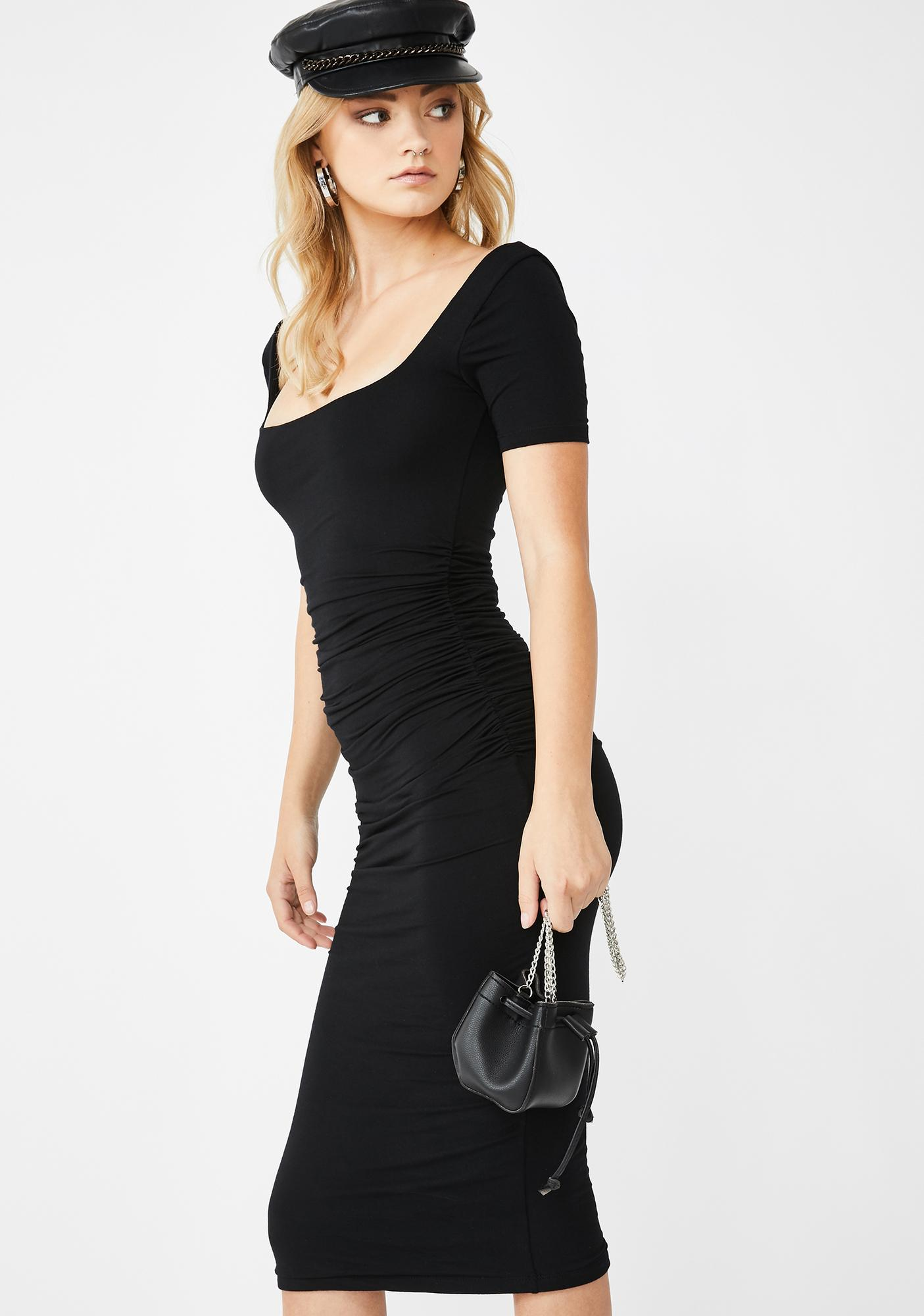 Kiki Riki Lowkey Lovin' Midi Dress