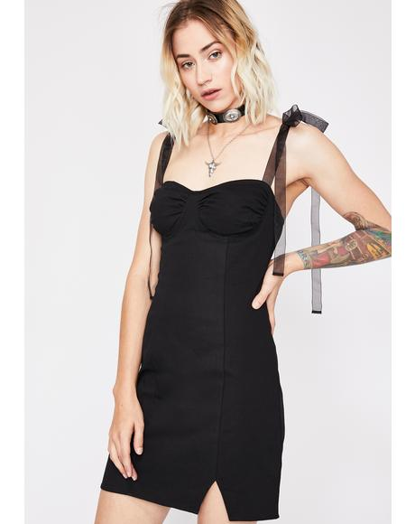 Rose Coven Denim Dress