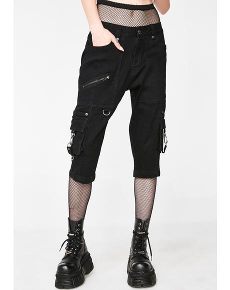 Twisted Cargo Shorts