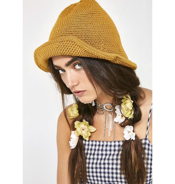 Pickin' Daisies Crochet Hat
