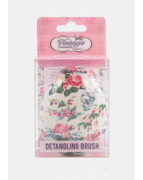 Floral Detangling Brush