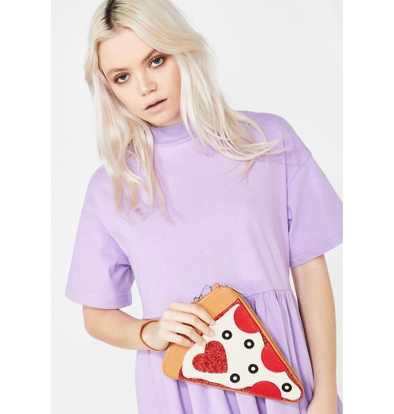Single Slice Pizza Clutch