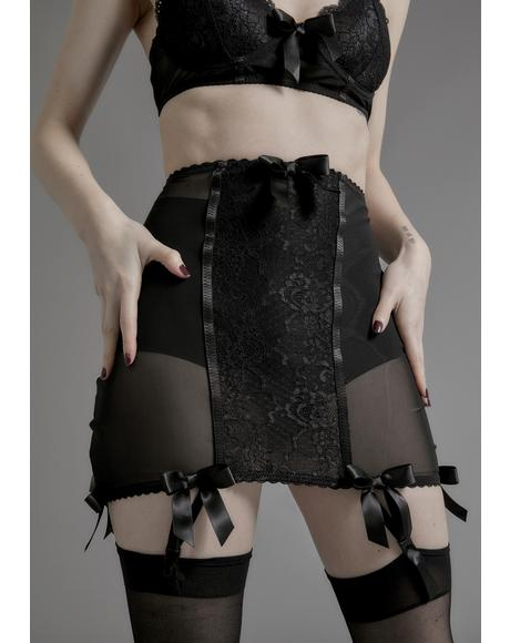 Unrequited Love Garter Skirt