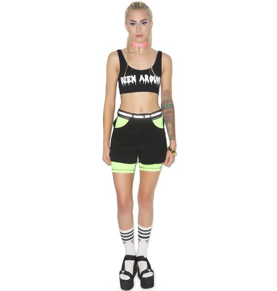 This Is A Love Song Tank Reflector Shorts