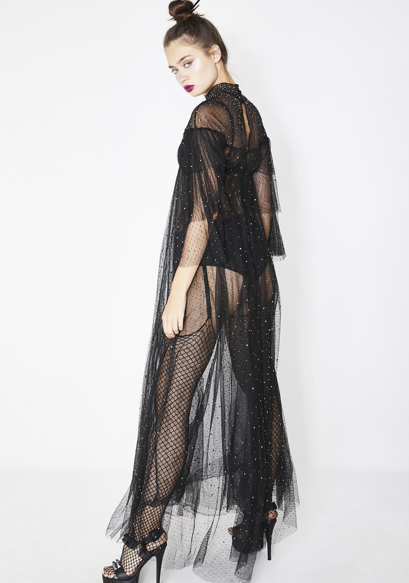 Kiki Riki Shaded Heart Maxi Dress