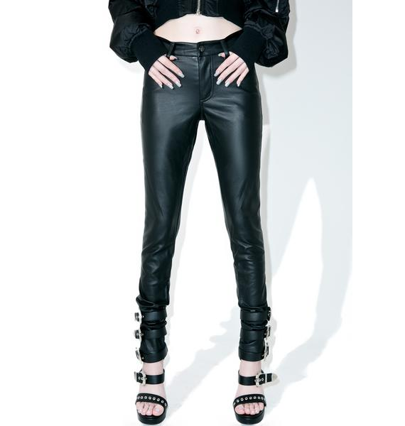 Tripp NYC Faux Leather Pants