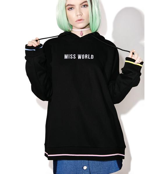 Local Heroes Miss World Oversized Hoodie