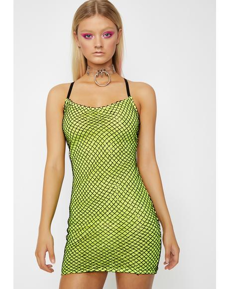 Slime In My Zone Sequin Dress