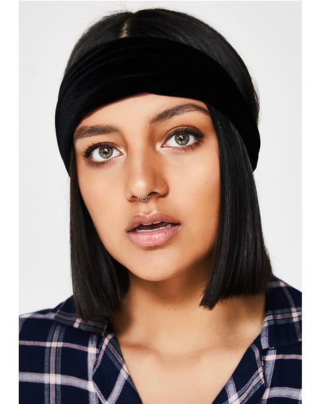Dark Darling Velvet Headband
