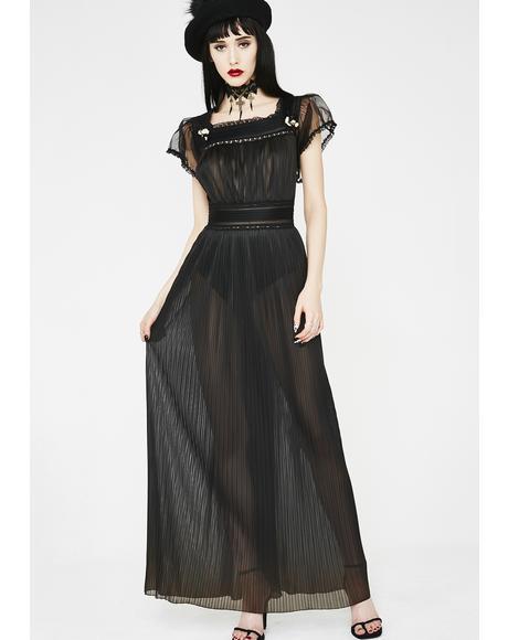 Vintage 70s Maxi Slip Dress