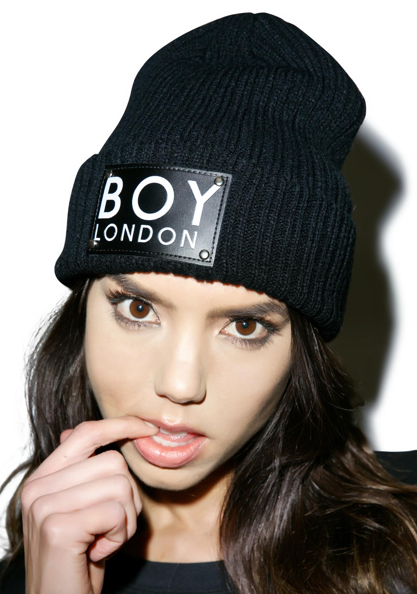 BOY London BOY Patch Beanie
