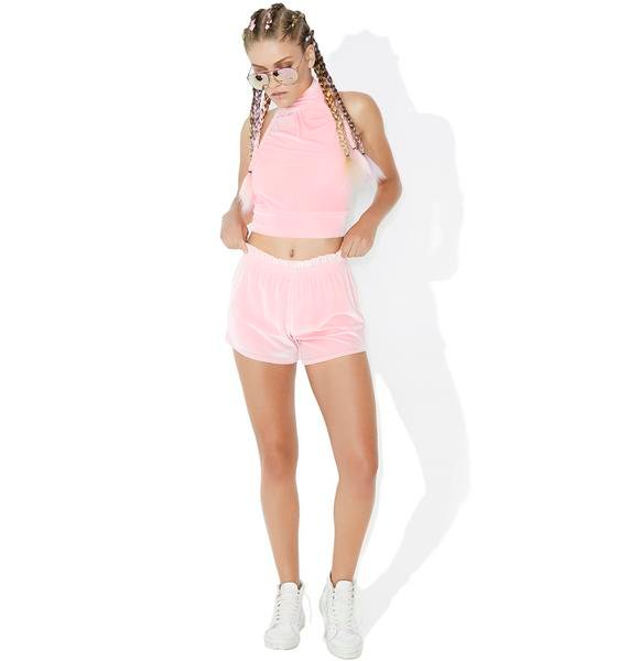 Passion Fruit Ruffle Shorts