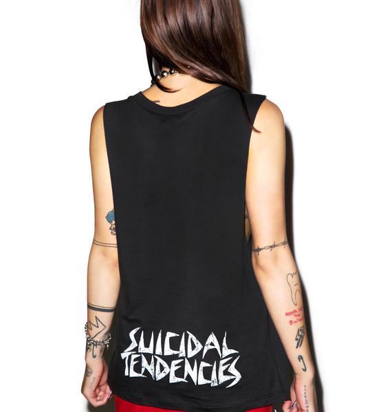 Suicidal Tendencies Flip Skull Tank Top