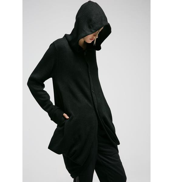 MNML Hawt Hooded Cardigan