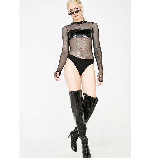Current Mood Censor This Fishnet Bodysuit