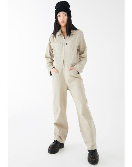 Stone Utility Boilersuit