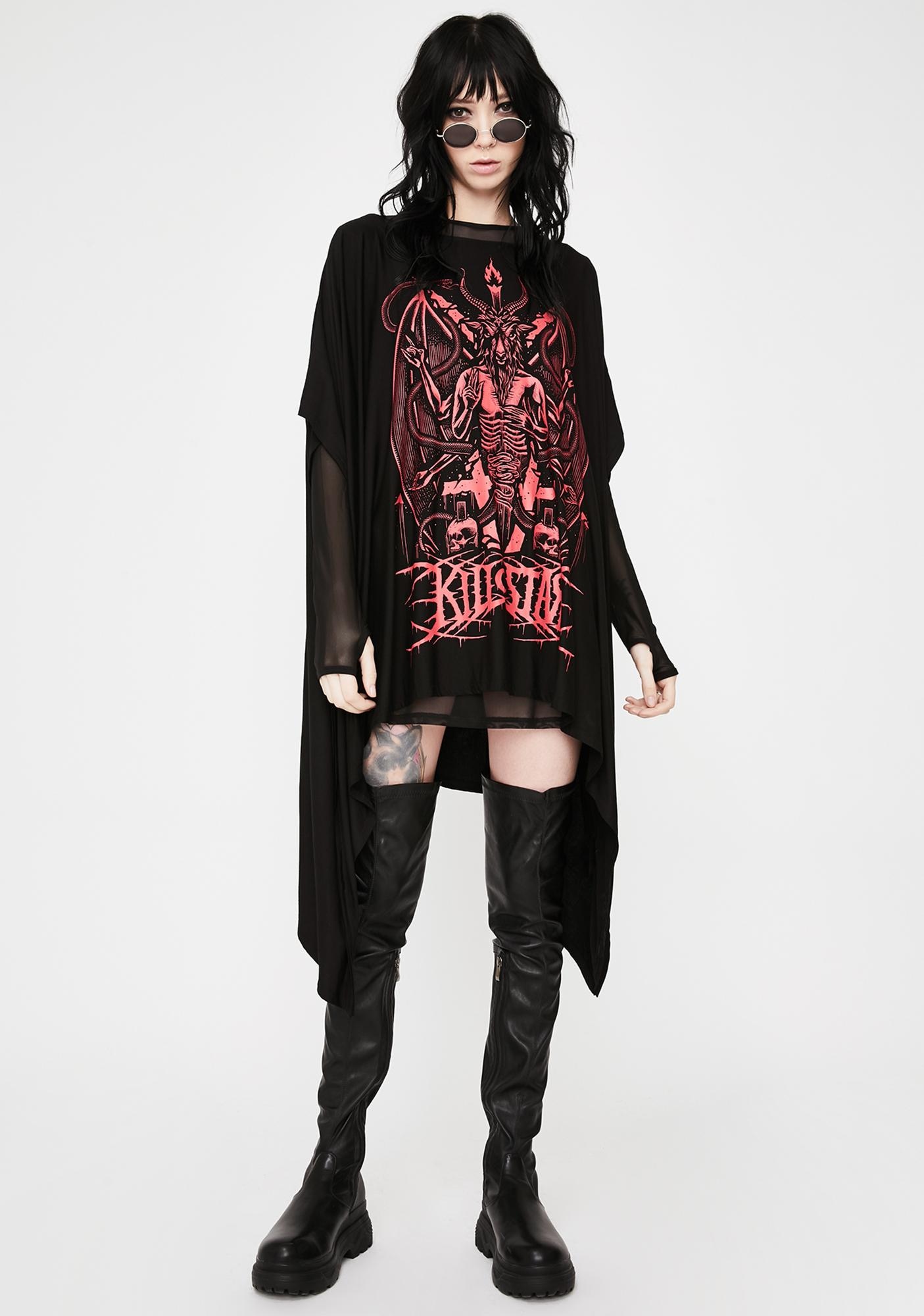 Killstar Metalia Graphic Tunic