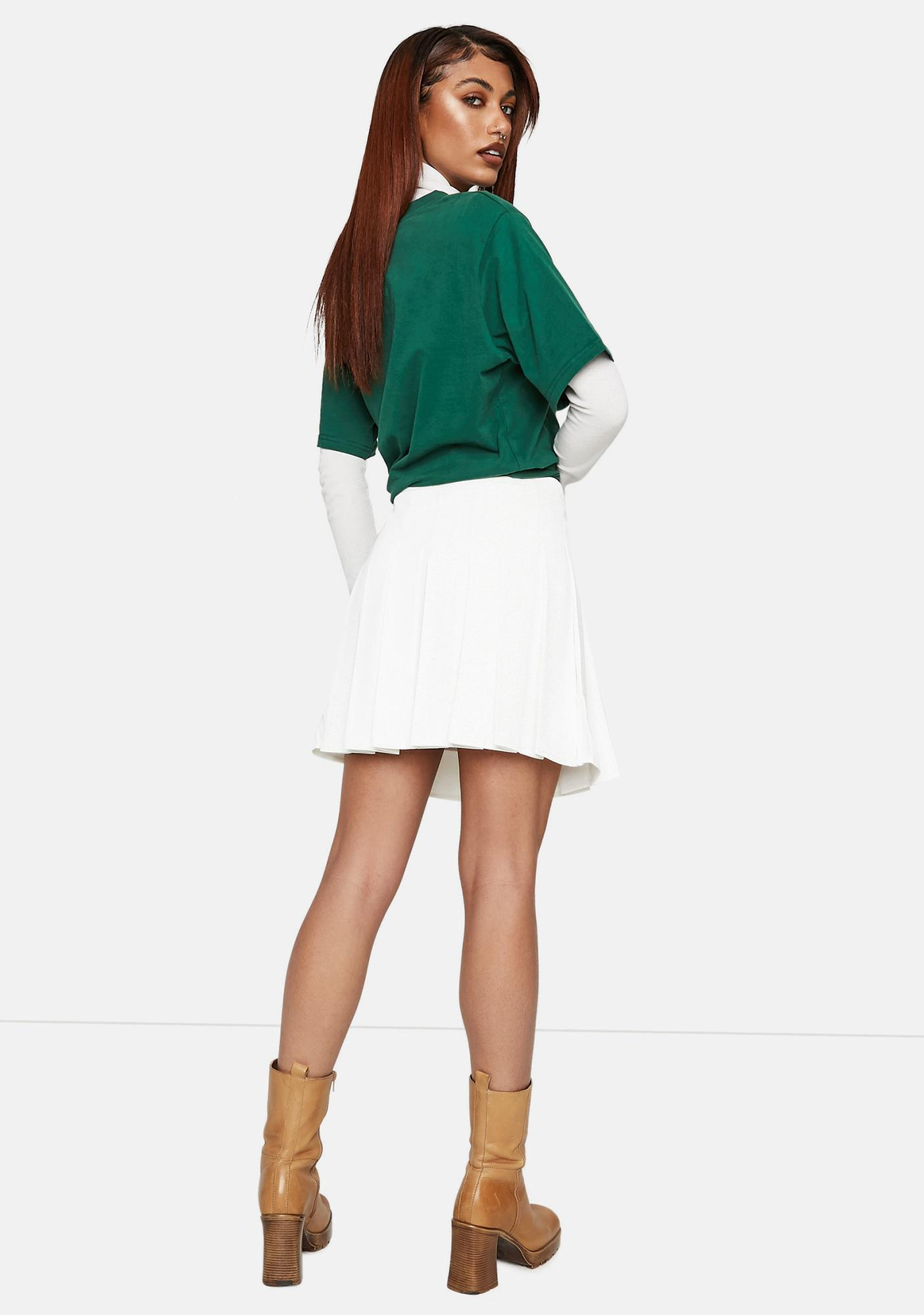 Bailey Rose Pleated Tennis Mini Skirt