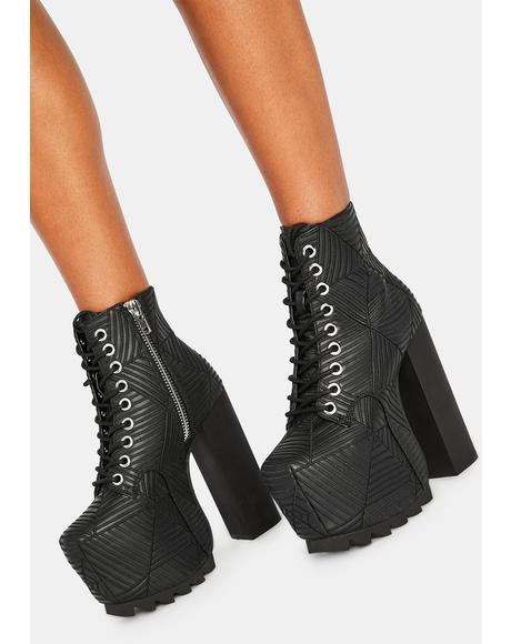 Spidey Platform Boots