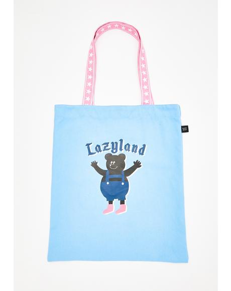 Lazyland Tote Bag