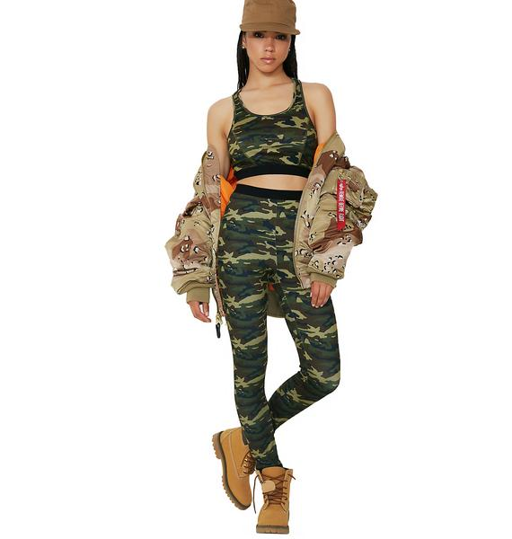 Gorgeous Gunner Camo Leggings