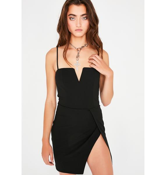 Pretty Liar Slit Dress