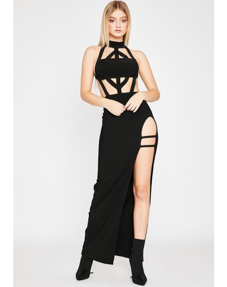 Forbidden Love Maxi Dress