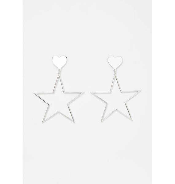 Shine Bright Star Earrings