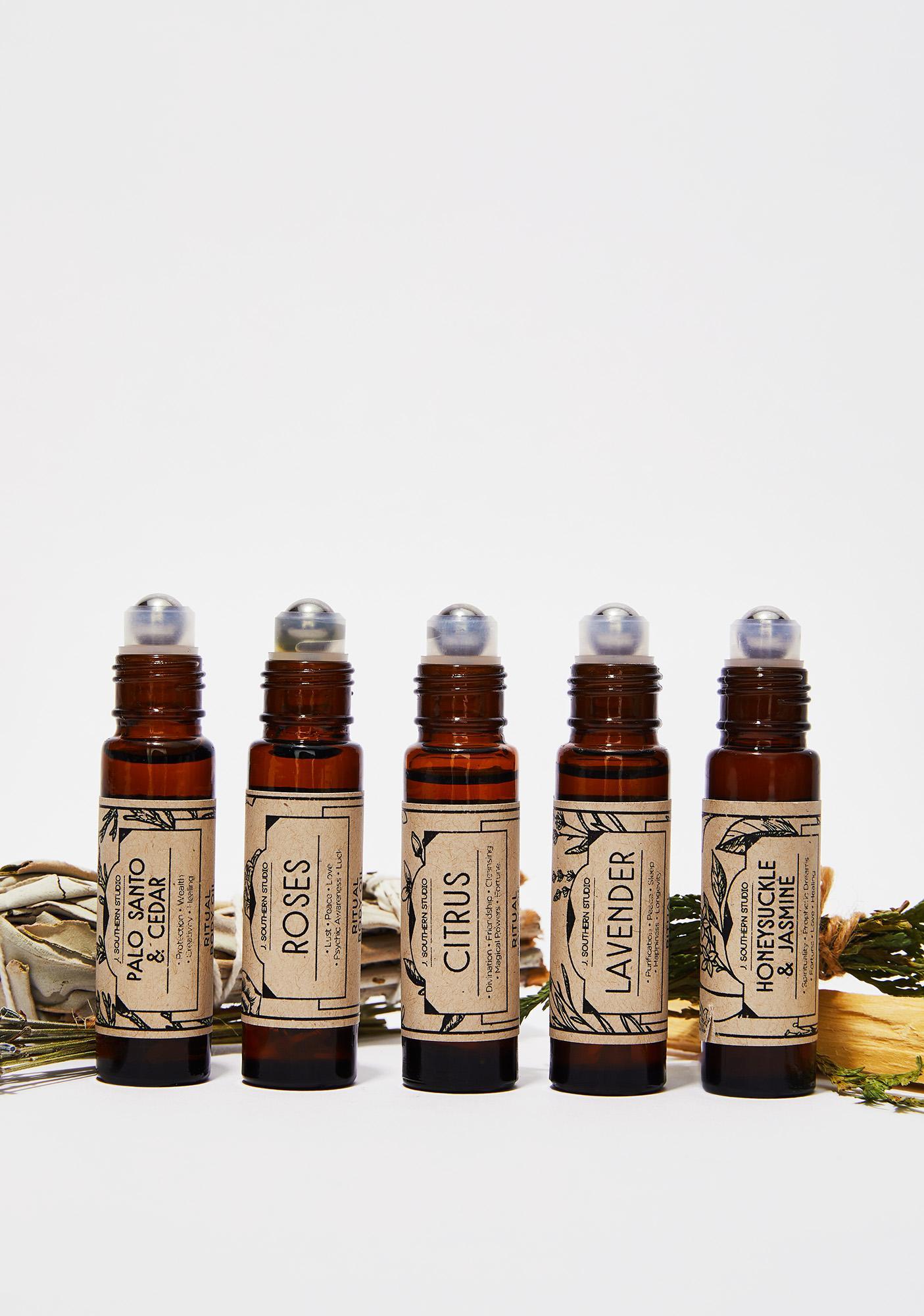 J. SOUTHERN STUDIO Palo Santo Cedar Ritual Oil