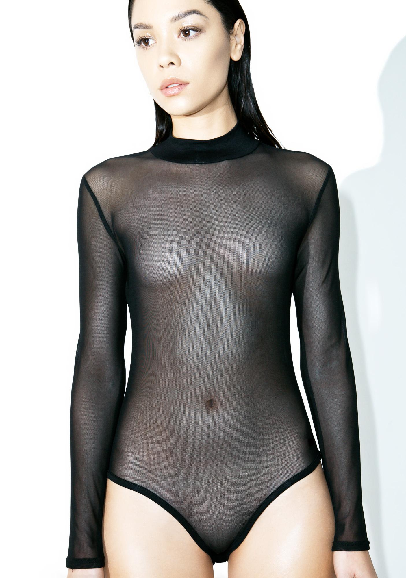 The Way It Goes Mesh Bodysuit