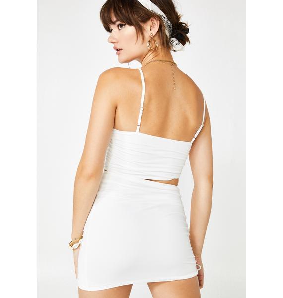 Swipe Right Cutout Dress