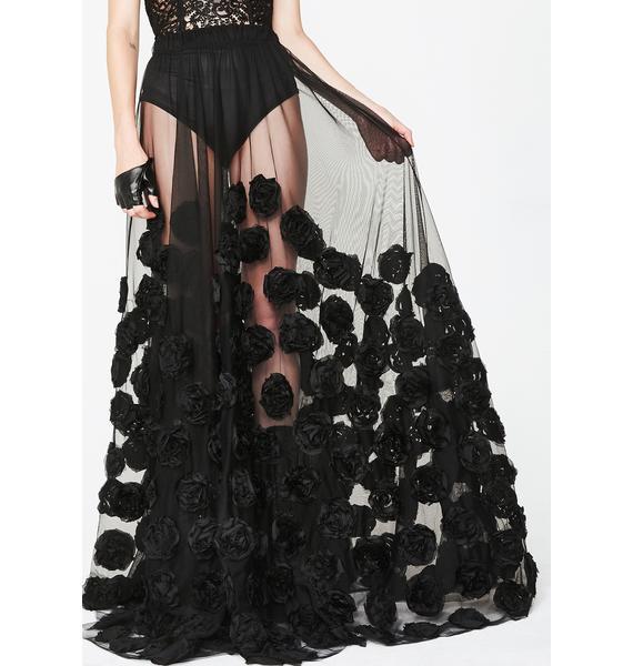 Kiki Riki Wicked Fairy Floral Tulle Skirt
