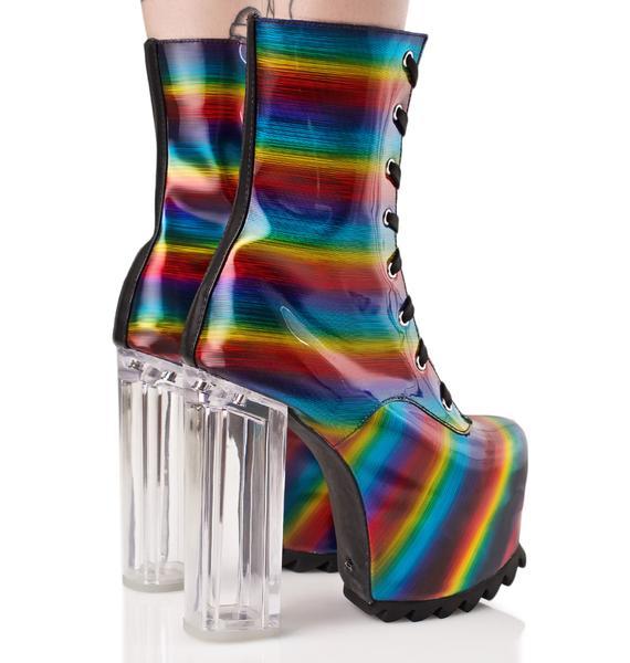 Current Mood Lit Boots