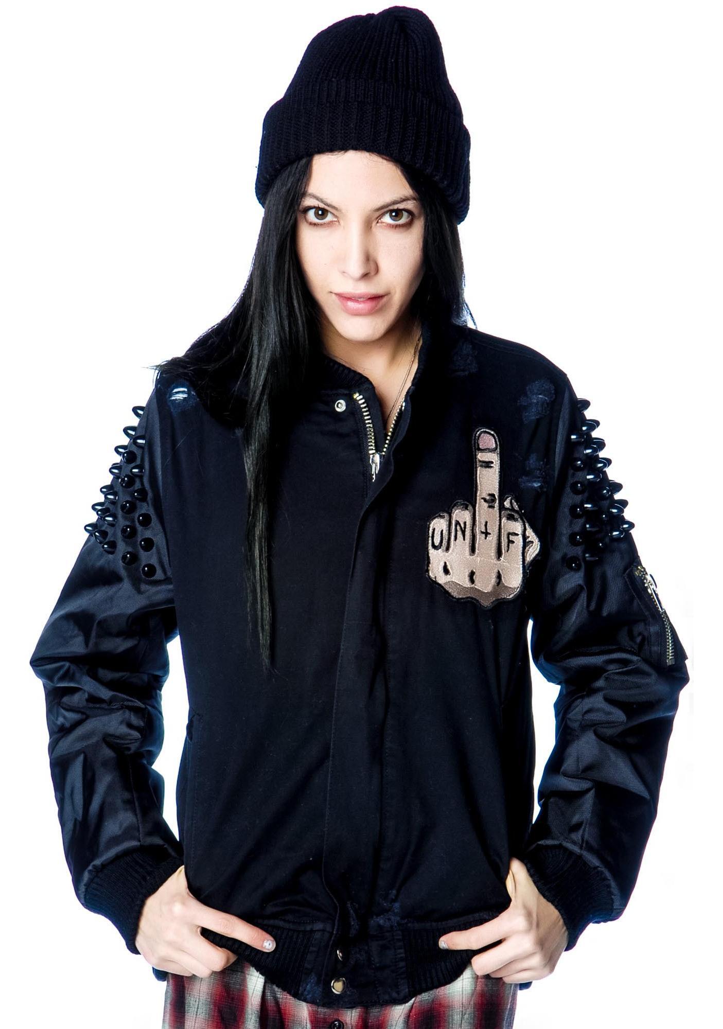 UNIF Flip Bomber Jacket