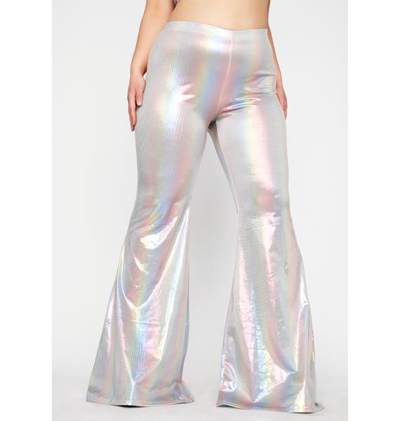 Club Exx Late Sunset Treasure Flare Pants