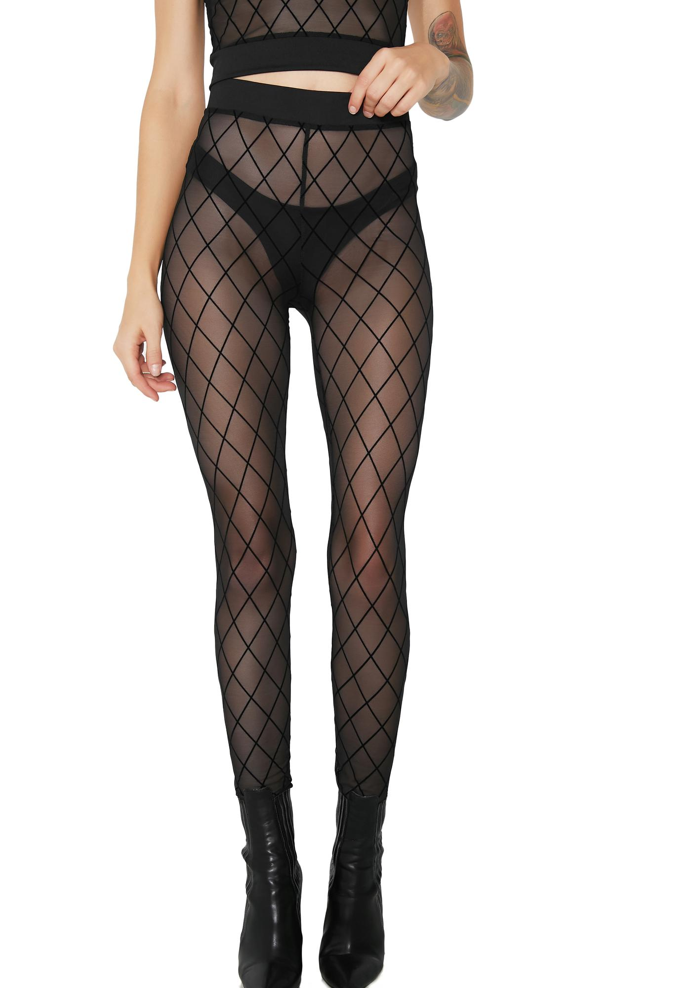 Shadowtime Sheer Leggings
