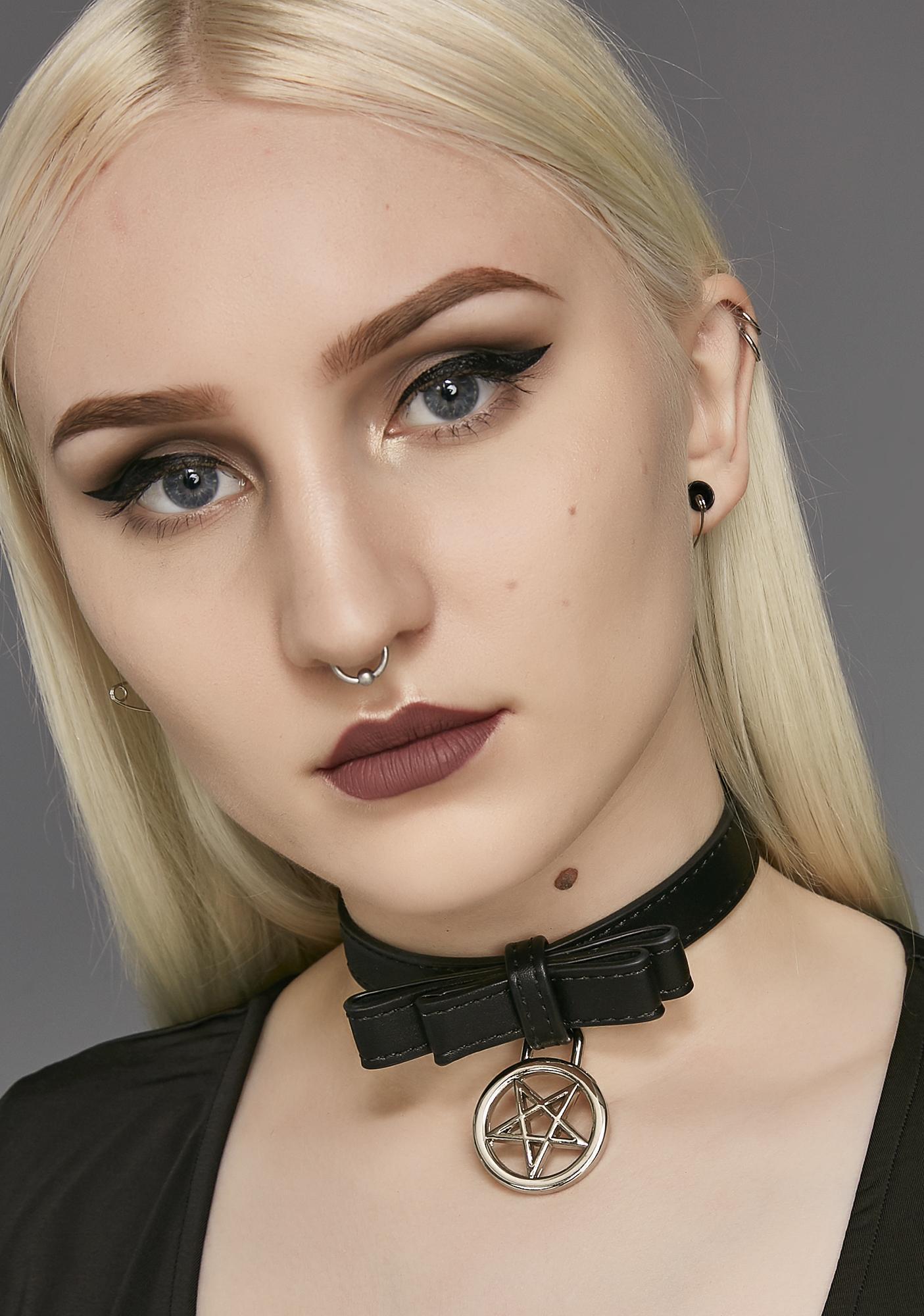 Killstar Evil Hellcore Pussy Collar
