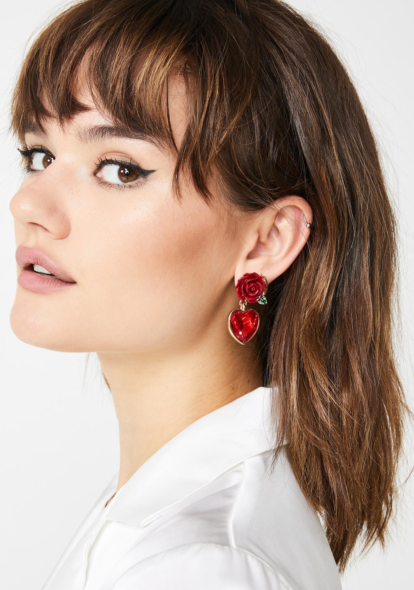 Romance Passion Stud Earrings