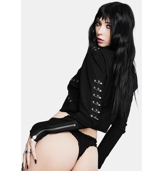 MaryJaneNite Danger Lace Thong