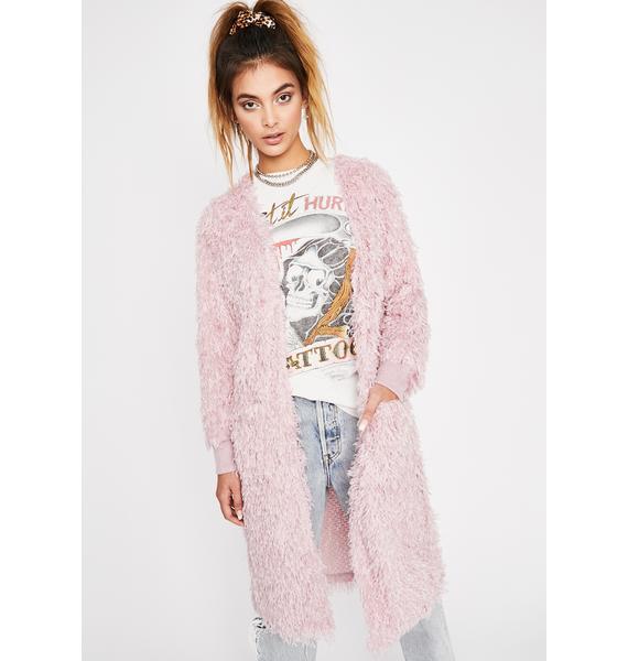Sweet Dream Fuzzy Cardigan
