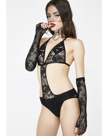 Object Of Desire Lace Bodysuit