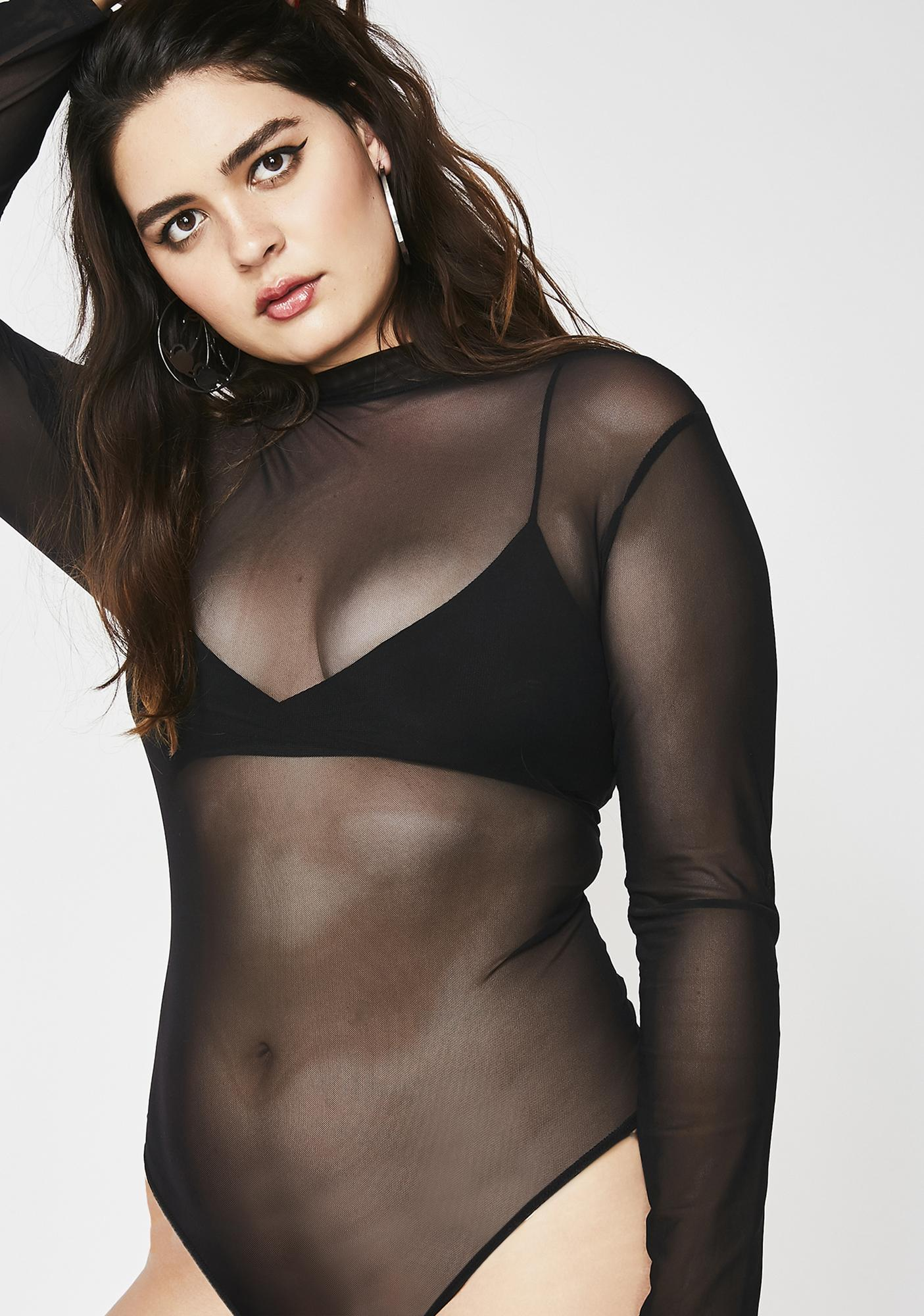 Been Bad Mesh Bodysuit