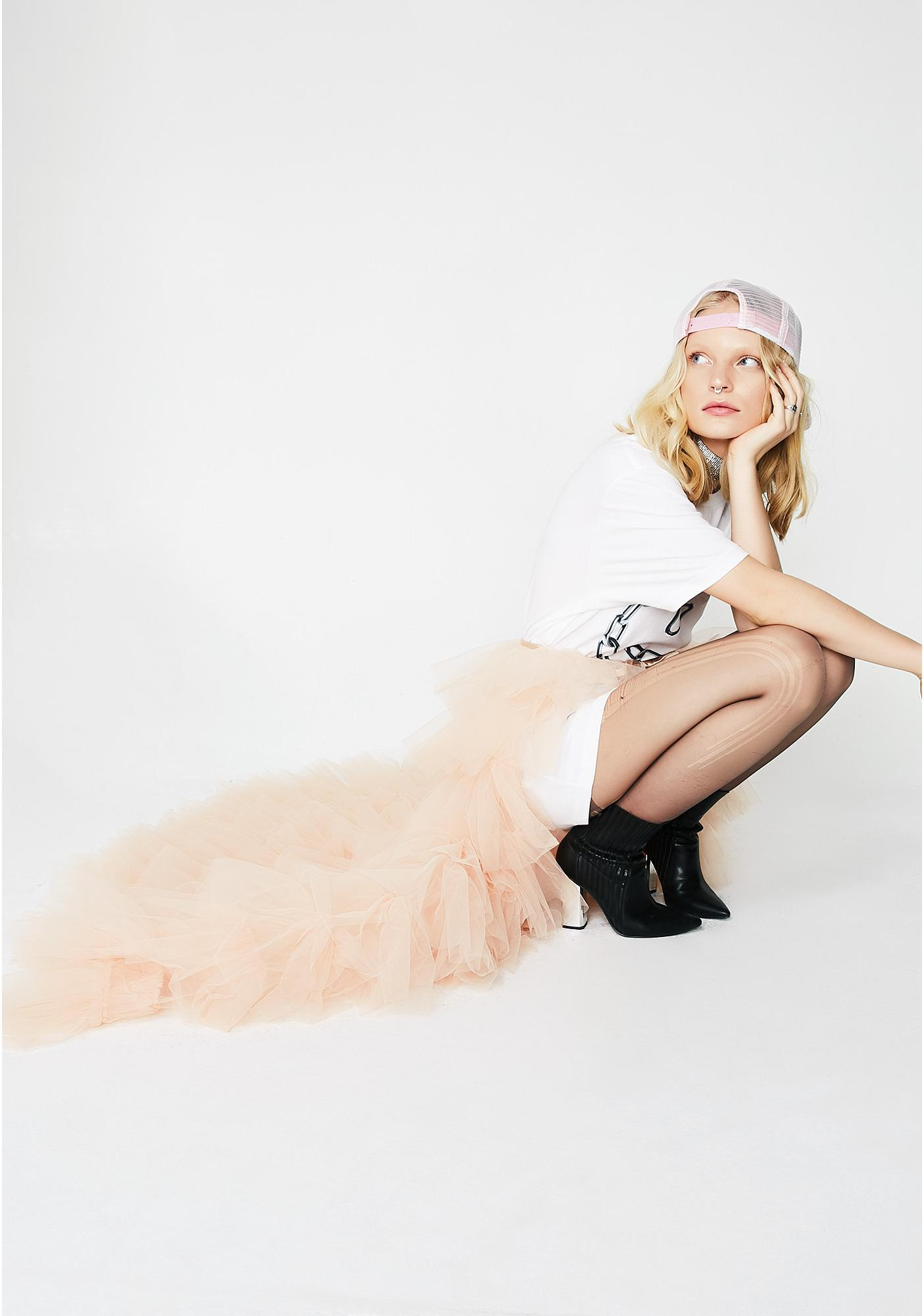 Kiki Riki Royal Bow Tutu Maxi Skirt