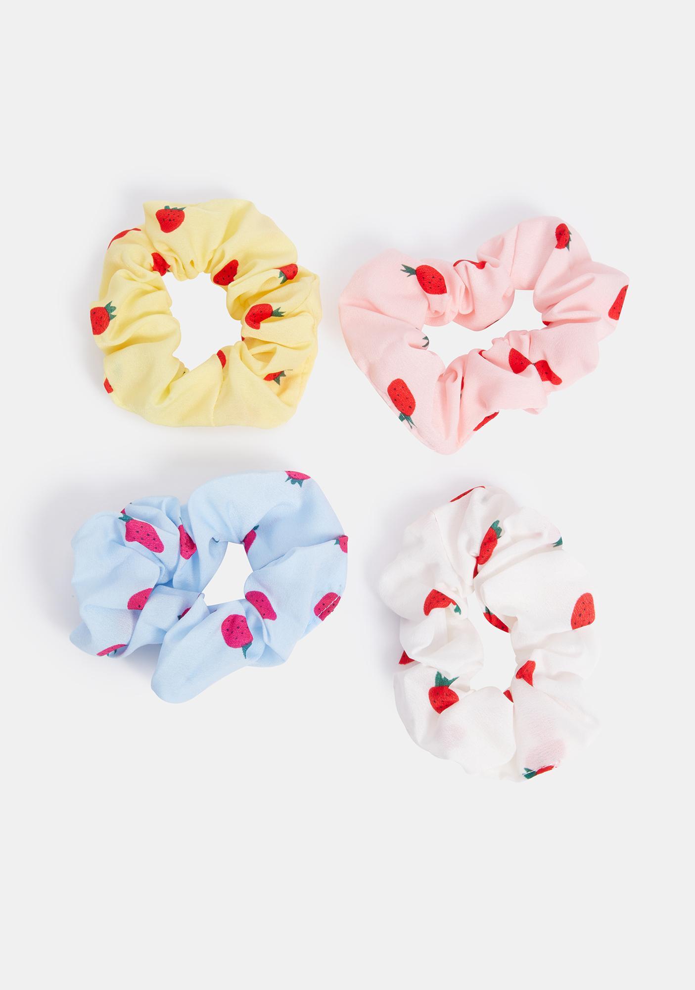 Sweet Bite Scrunchies Set