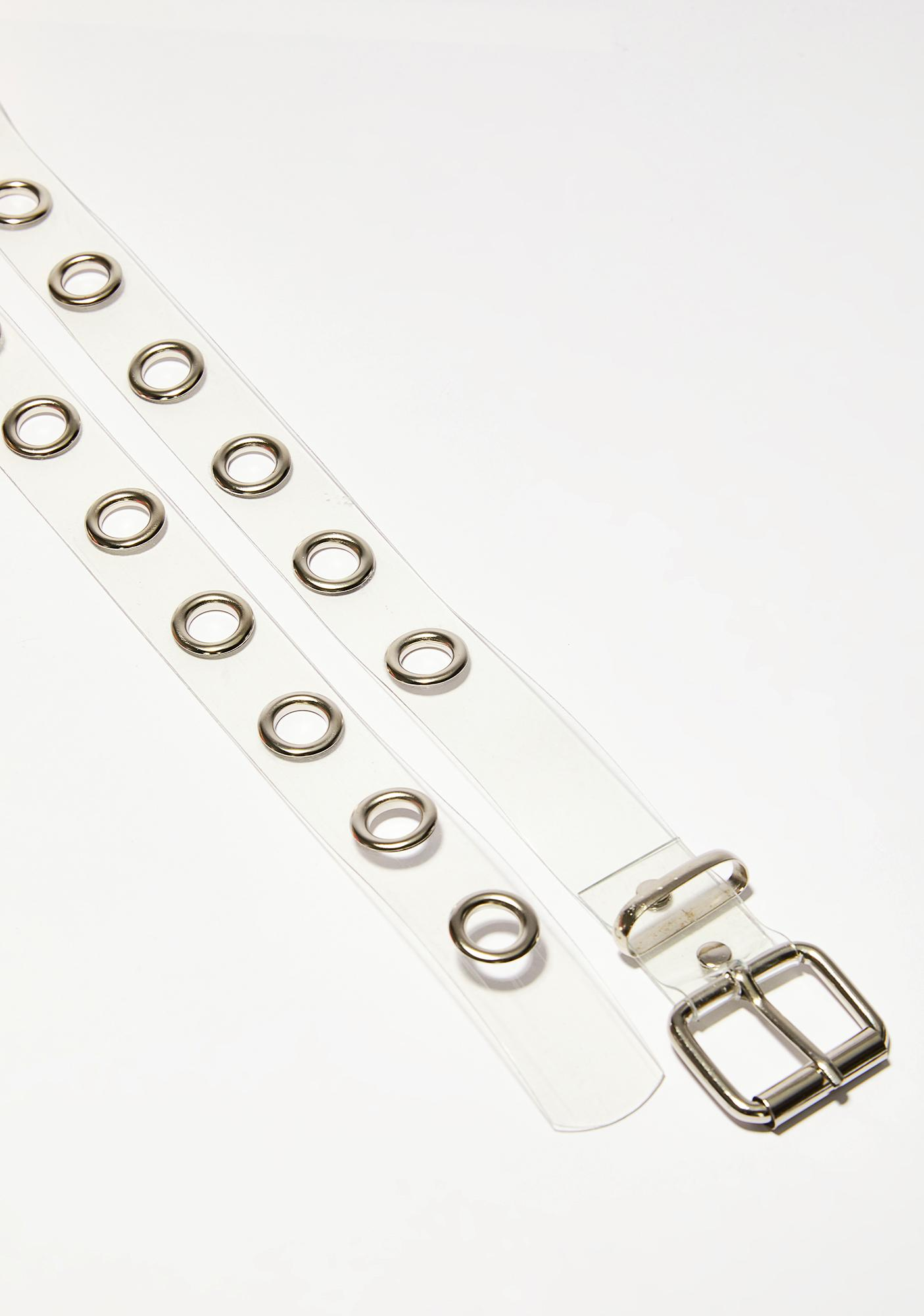 Make It Clear Grommet Belt