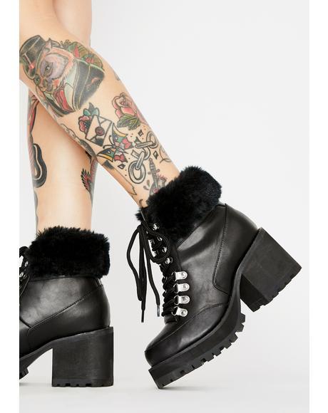 Onyx Snow Blazin' Hiker Boots